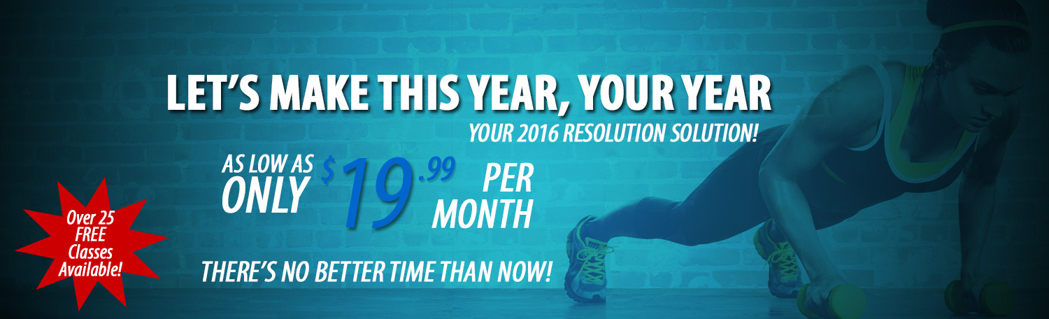 Intoxx Fitness, Staten Island's Resolution Solution